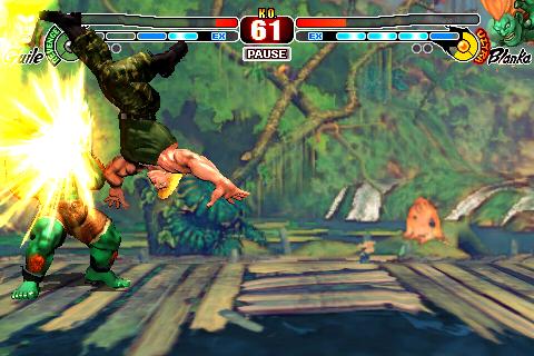 Street Fighter IV Guile Blanka