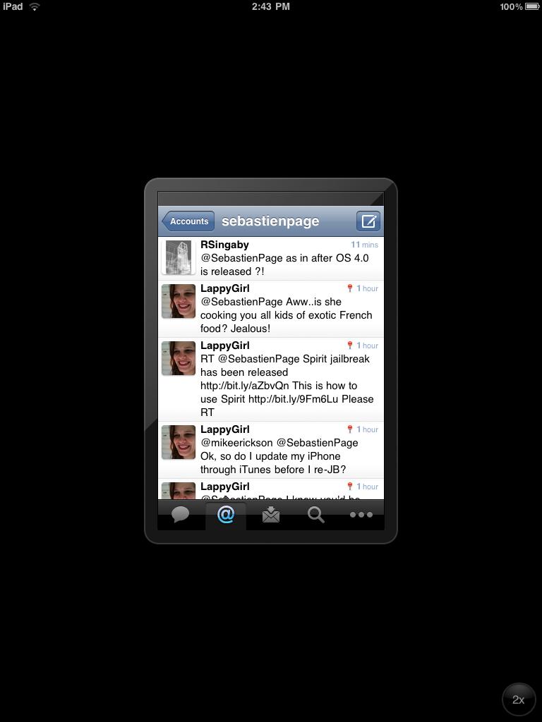 ipad small screen