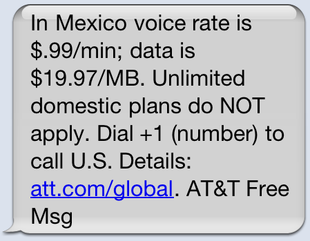 AT&T in Mexico